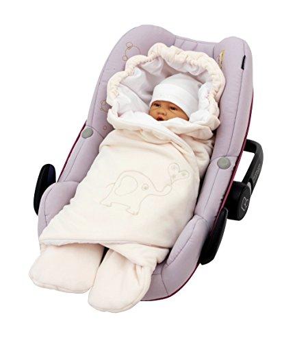 Babyeinschlagdecke für Autositz